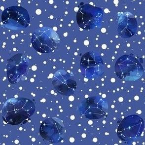 Watercolor Zodiac Polka Dot