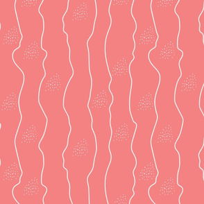 Fifties Stripes and Dots pink