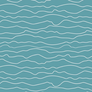 Fifties Stripes turquoise