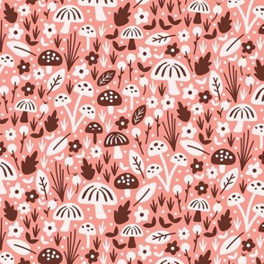 Mushroom Field Pink