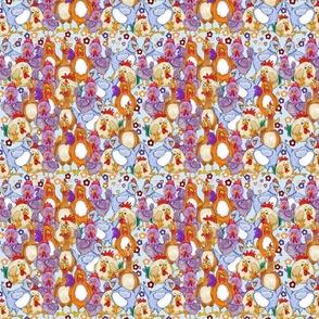 pattern 4 blue