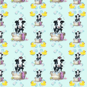 Moo Updo Pattern 1 on mint