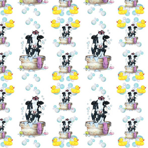 Moo Updo Pattern 1 on white