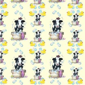 Moo Updo Pattern 1 on yellow
