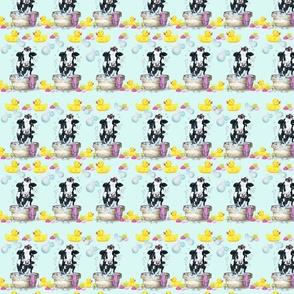 Moo Updo Pattern 2 on mint