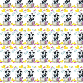 Moo Updo Pattern 2 on white