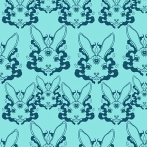 Trippy Water Rabbits small scale