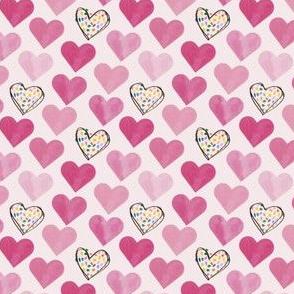 confetti hearts- mini