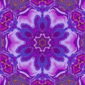 Purple fluid art pattern