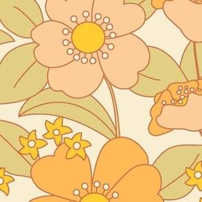 70s Flower Sunny BIGGER