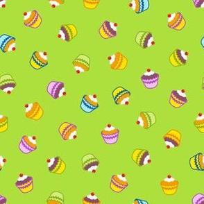 Green Cupcake Frenzy
