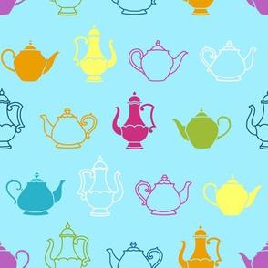 Vintage Teapot Texture