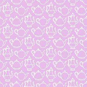Pink Vintage Teapot Texture