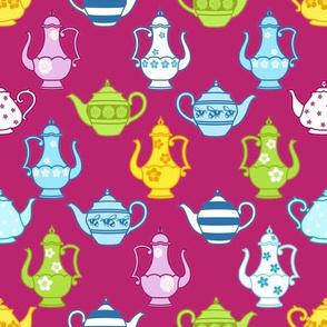 Vintage Decorated Teapots