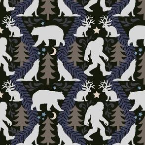 Bigfoot Back Woods Damask