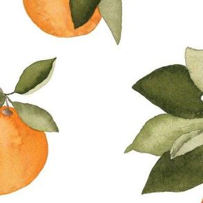 Large Orange Blossom