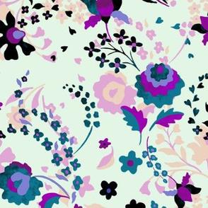 Violet Daze Marzipan - mint