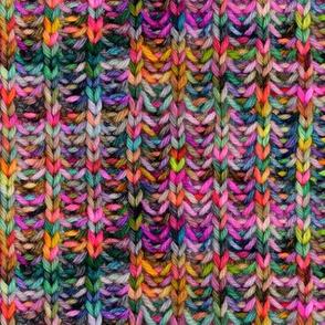 Knitted brioche fabric - small