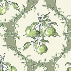 Apple damask