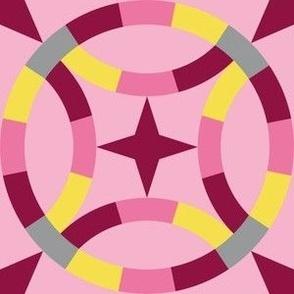 Starry Wedding Ring 4 - Pinks Illuminating Ultimate