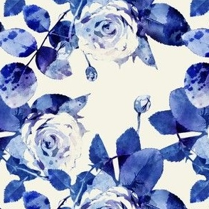 Blue roses small