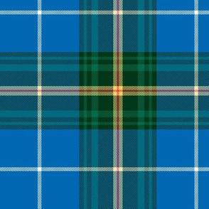 """Nova Scotia official tartan, 6"""" ancient colors"""