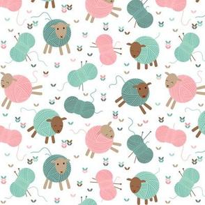Knitting sheep - small