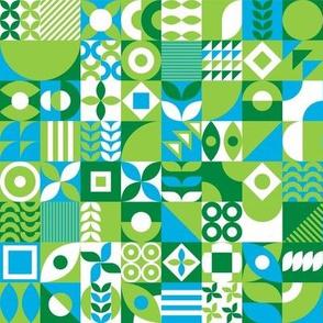 Boxed Up Geometric - medium Scale