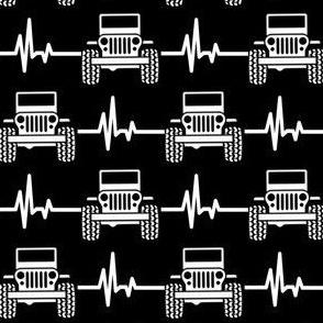 jeep heartbeat black