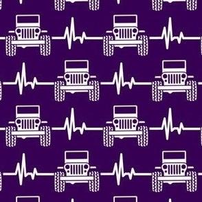 jeep heartbeat purple