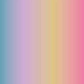 Ombre minimalist color block bright rainbow pink purple yellow blue vectical