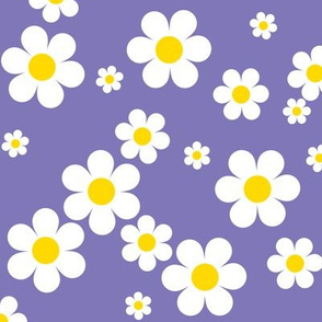 Birdy Daisies Larger Repeat v2.1