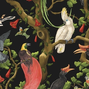 The Bird Chorus Large Black