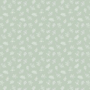 Petals and flowers boho summer garden poppy love neutral nursery moody minty sage green mini
