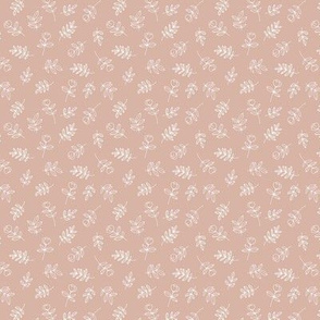 Petals and flowers boho summer garden poppy love neutral nursery moody moody coral blush beige mini
