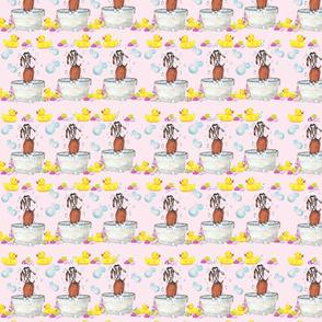 Goat Soap Pattern 2 pink