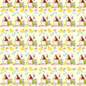 Bathing Broodies Pattern 2 yellow
