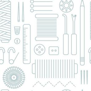 Spoonflower Packaging Sewing Supplies