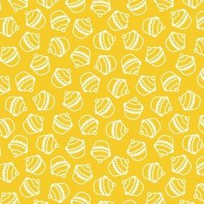 Yellow Cupcake Texture