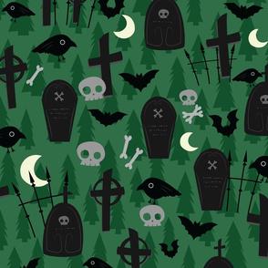 Graveyard Pattern - L