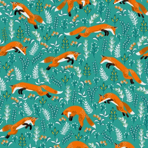 Jumping Foxes