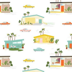 Palm Springs Style- retro colors