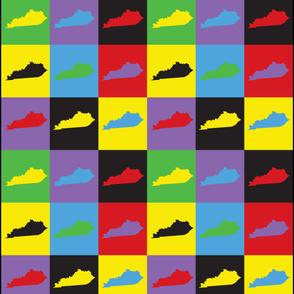 Kentucky Pop Art Pattern