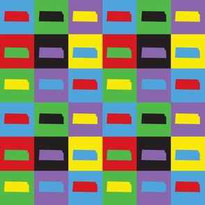 Kansas Pop Art Pattern