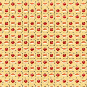 tomato soup tile inverted - yellow