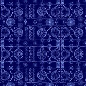 Geometric Dreams Small-Blues