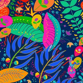 Hawaiian Garden Hidden Parrot