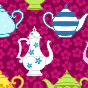 Elegant Decorated Teapots