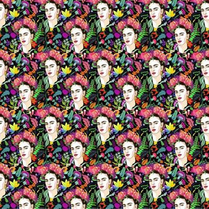 Frida in Bloom-- Smaller Scale