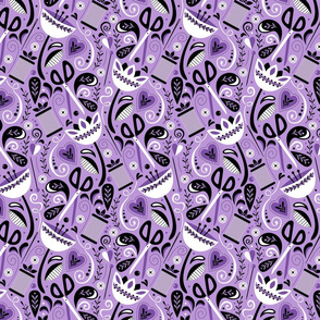 Sew Floral (Lilac)